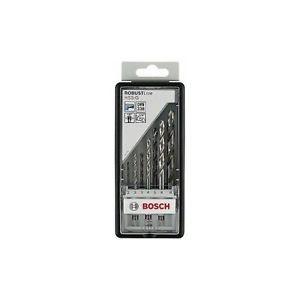 Bosch 2607019922 Robust Line Set 7 Punte, Metallo, Codolo Esagonale