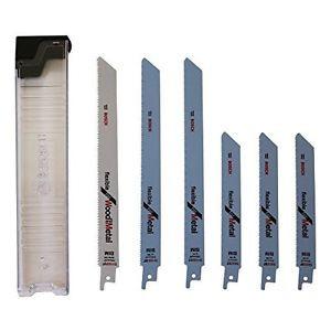 Bosch Pro 6tlg. Lama per seghetto-Set Wood and Metal per segare in legno e