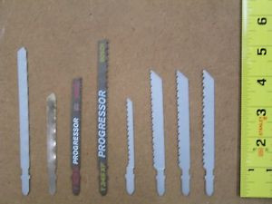 48 New Bosch Jigsaw Blades, Great Mix,8 Different Types