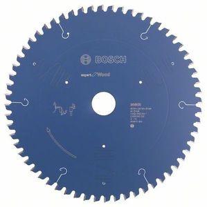BOSCH CIRCULAR SAW BLADE EXPERT FOR WOOD, 254 X 30 X 2,4 MM, 60
