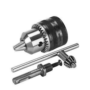 Bosch 2609255708 Mandrino a Cremagliera, Attacco SDS-Plus, 1.5-13 mm