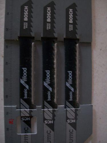 OFFER ! 10PKTS BOSCH U111C HCS JIGSAW BLADES BASIC FOR WOOD (10 x  PACK OF 3 )
