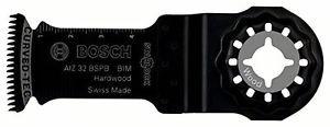 Bosch AIZ 32 BSPB Lama per tagli dal pieno BIM Hard Wood, 32 x 40 mm