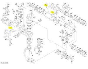 Linde Axle Beam Assy Brand New L3064500902 3064500902