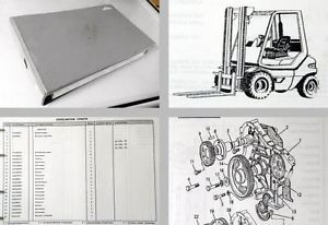 Linde H20-02 H25-02 H30-02 Gabelstapler Ersatzteilkatalog 1995