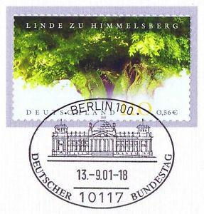 BRD 2001: Himmelsberg-Linde! Selbstklebende Nr. 2217! Berliner Stempel! 1A! 1606