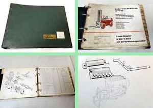Ersatzteilkatalog Linde H35 / H40D Stapler Ersatzteilliste 1970-77