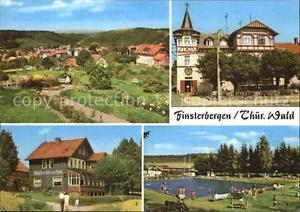 72518827 Finsterbergen Volkshaus zur Linde Cafe Waldschloesschen Schwimmbad Fins
