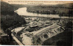 CPA Vue d'ensemble de la nouvelle usine électrique Calés Mauzac-La Linde(233814)