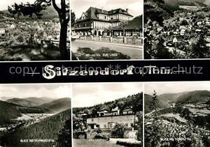 72984179 Sitzendorf Thueringen HO Hotel Zur Linde Schwarzatal Restaurant Sorbitz