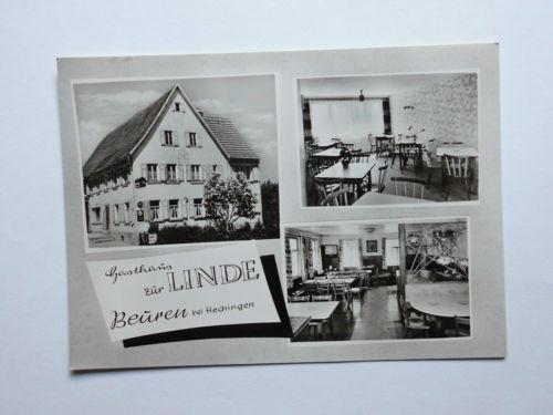 AK Gasthof  Gasthaus zur Linde Beuren bei Hechingen ungelaufen