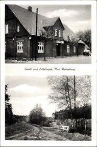 Ak Söhlingen Hemslingen, Gasthof Zur Linde, Otto Meyer, Waldpartie - 1125687