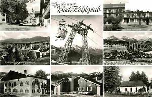 72842282 Kohlgrub Bad Alte Linde Herzogstand Schwebebahn Kirche Hoernlehuette Ba