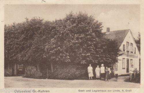 Primorje Gross Kuhren AK 1928 Gast- und Logierhaus zur Linde Russland 1603243