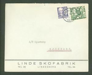 J Cover G13 Sweden old Linde Shoe factory Lindesberg