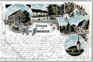 51501838 - Kleinneuhausen 1901 gasthaus zur Linde Pfarrhaus Schule Kirche  Preis