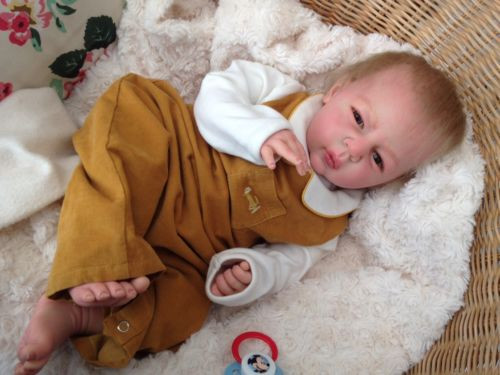 REALISTIC REBORN BABY Luke from Linde Scherer's Linda