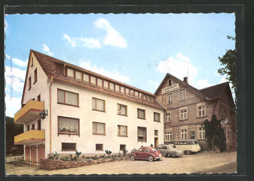 schöne AK Bösingfeld, Gasthaus Zur Linde