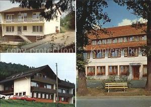 72426121 Glatten Freudenstadt Gasthof Zur Linde Gaestehaus und Haus am Walde Sch