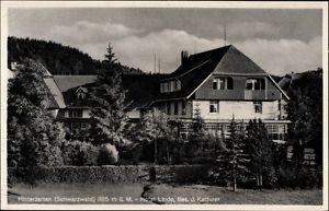 Ak Hinterzarten im Südschwarzwald, Hotel Linde, Bes. J. Ketterer - 10134974