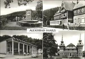 41239205 Alexisbad Harz Hotel Linde, Cafe Exquisit, Friedensdenkmal Harzgerode