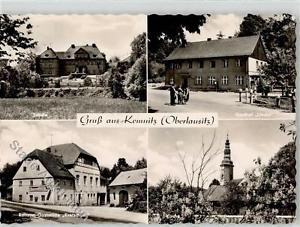51900465 - Kemnitz b Loebau Schule Gasthaus Linde Gasthaus Kretscham Kirche