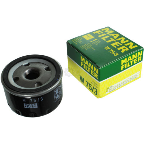 Original MANN-FILTER Ölfilter Oelfilter W 75/3 Oil Filter
