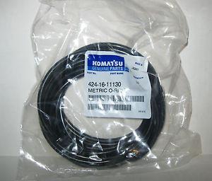 Lot of 10  Komatsu O Rings Metric 424-16-11130