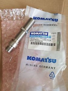 New Komatsu Mining Germany RPM Sensor 763 504 73 / 76350473