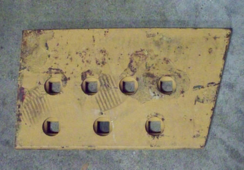 Komatsu grader bulldozer end bit bolt on 626005C1 replacement steel RH new