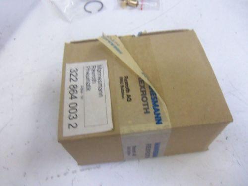 REXROTH USA Greece 322-864-003-2 *NEW IN BOX*