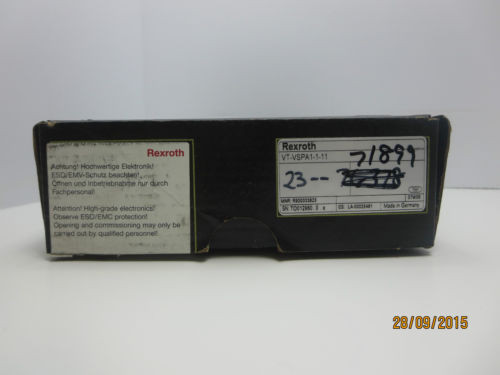 Rexroth Germany France Electrical Amplifier VT-VSPA1-1-11 *NEW*