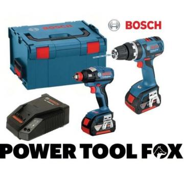 Bosch GSB 18V-EC plus GDX18V-EC 2 4.0AH Batteries 0615990GG7 3165140818834