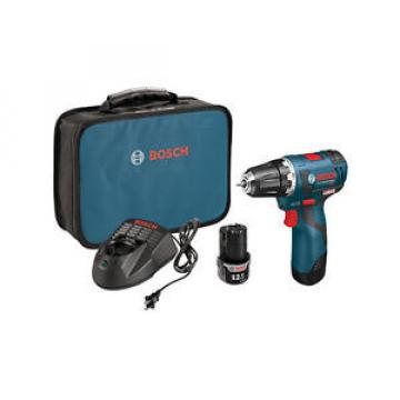 "Bosch PS32-02 Brushless Cordless Drill Driver Kit 12V Max Li-Ion 3/8"" NEW Tool"