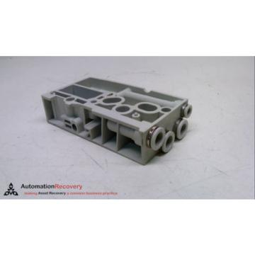 REXROTH Singapore India R 480 240 875, PNEUMATIC MANIFOLD END BLOCK, 24 VDC, 10 BAR #231335