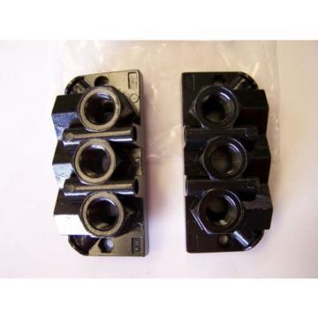 Qty India Egypt 4 Rexroth / Bosch 901-HN1TF Pneumatic Valve Manifold Base Kits New