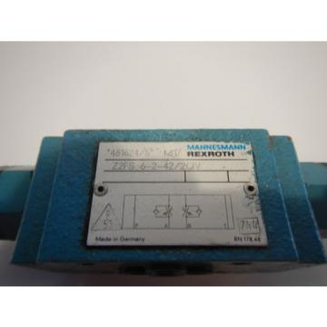 Rexroth Dutch Russia Z2F5-6-242/QV Hydraulic Dual D03 Flow Control