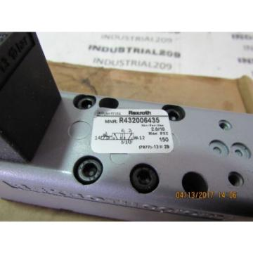 REXROTH France Canada CERAM VALVE RT32006435 GT-010061-02440 NEW