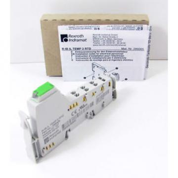 Rexroth USA Korea R-IB IL TEMP 2 RTD -NEW- Indramat INLINE-Klemme 289305
