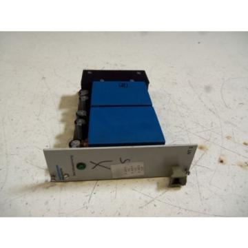 REXROTH Canada Canada VTS 0908-1X/2/NT3 POWER SUPPLY MODULE *USED*
