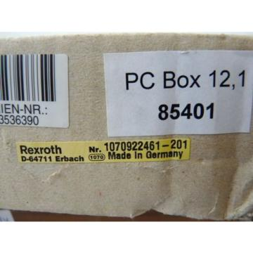 Rexroth Korea India 1070922461-201 Indra View P 16 PC Box 85401 ungebraucht