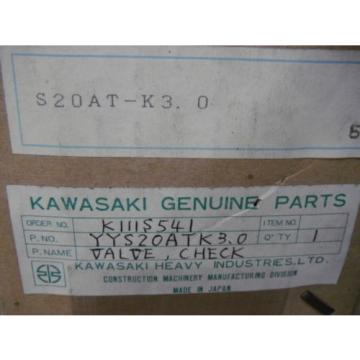 Kawasaki China USA YYS20ATK3.0 Rexroth S20AT-K3.0 Steel Check Valve