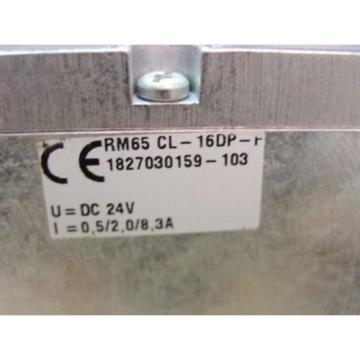 Rexroth Japan Russia Interbus 1827030159 / RM65 CL-16DP-F >ungebraucht<