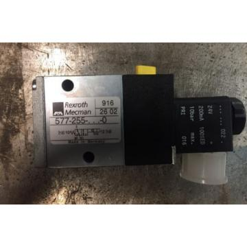 Rexroth Japan Russia 577 255 3/2-directional valve, Series CD04 solenoid 24VDC coil