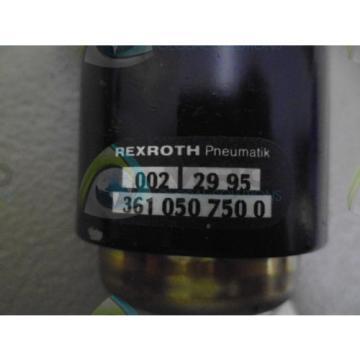 REXROTH Canada USA 3610507500 *NEW NO BOX*