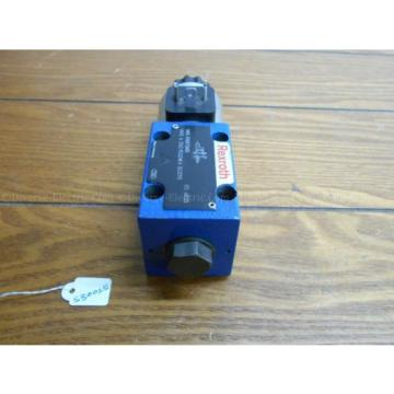 Bosch France Russia Rexroth R900738483 4WE 6 D62/EG24K4 SO293 Valve w/ R900221884 Solenoid 24V