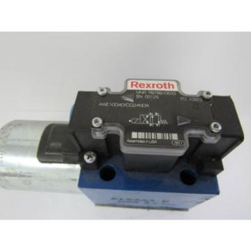 REXROTH France Japan HYDRAULIC VALVE 4WE10D40/CG24NDA 4WE10D40CG24NDA 24VDC 1.46 AMP A