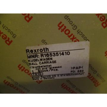 REXROTH Dutch USA R165351410 LINEAR BEARING *NEW IN BOX*