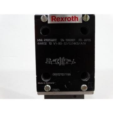 REXROTH Italy Italy R900556812 PROPORTIONAL VALVE 4WRSE 10 V1-80-3X/G24K0/A1V