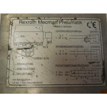 REXROTH Mexico Japan 561-010-207-0   5610102070